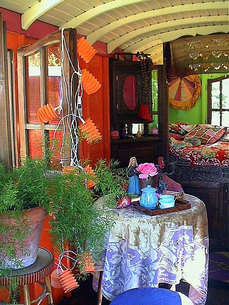 Eclectic Gipsyland on Flickr Gypsy Caravan Interior 4