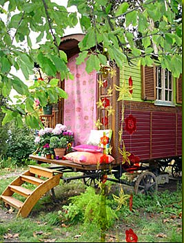 Eclectic Gipsyland on Flickr Gypsy Caravan Interior 9